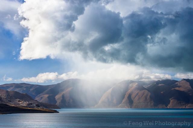 Amazing Clouds @ Tangra Yumco, Tibet