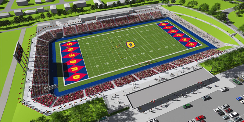 Queen's Board of Trustees has approved the Richardson Stadium revitalization project. Construction is expected to begin after the 2015 football season and completed by fall 2016.
