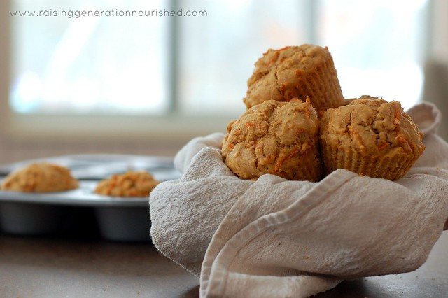Gluten Free Morning Glory Muffins
