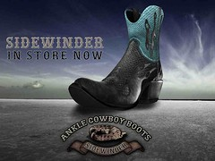 Made for *Guarded Cross* sidewinder cowboy boots
