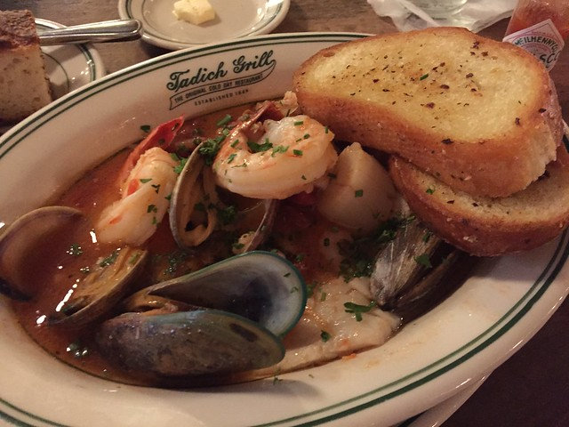 Seafood cioppino - Tadich Grill