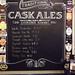 The beer board at the Royal Standard, Blackheath by selcamra