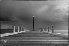 The pier B&W-Purden Photography