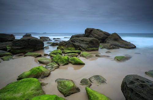 seascape beach sunrise moss australia