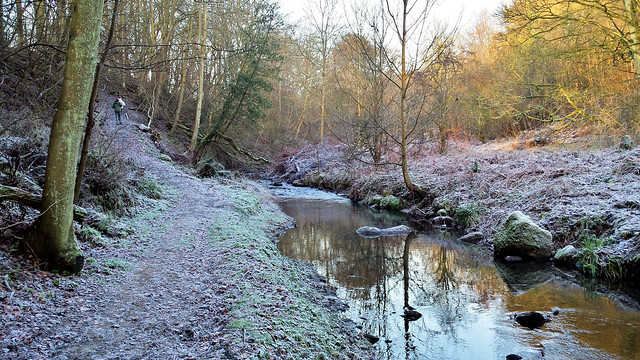 Keil's Den in Winter