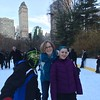 Skating at Wollman Rink.
