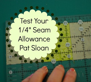 pat sloan test your seam allowance