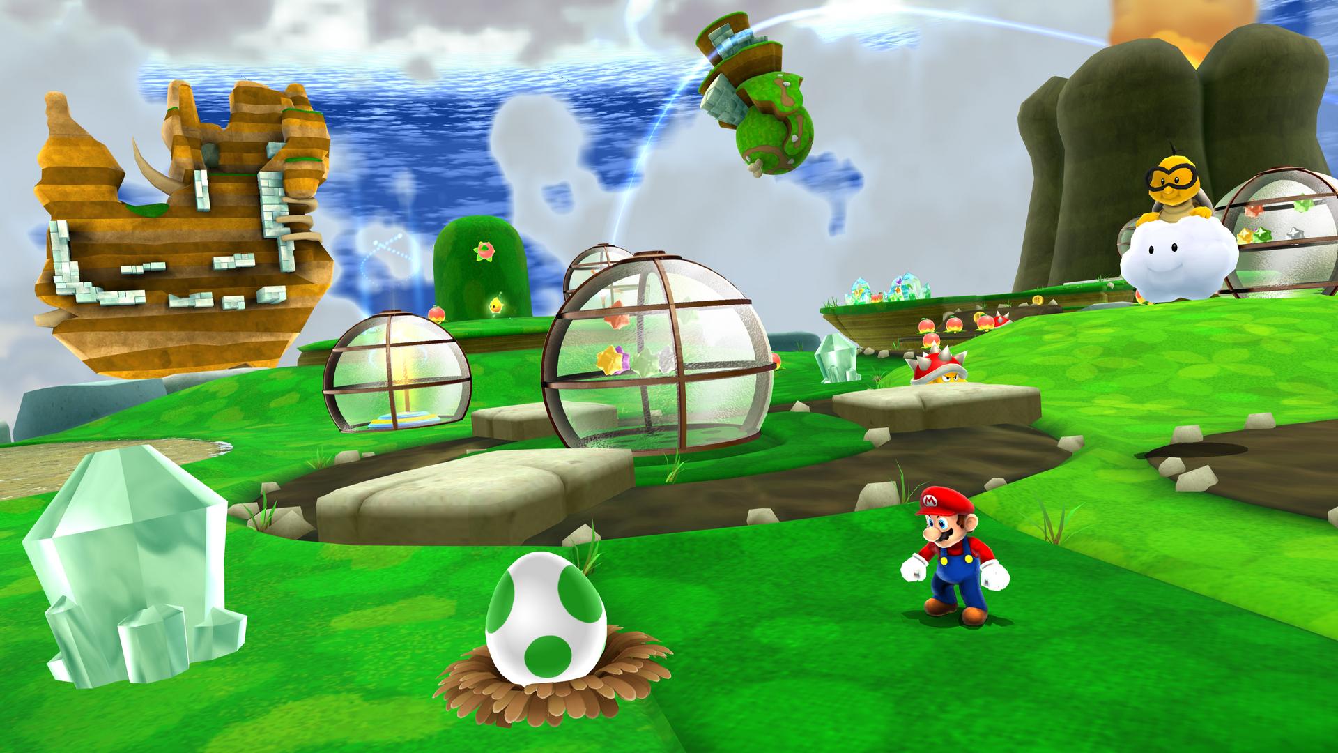 Super Mario Galaxy 4k