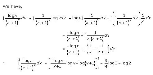 RD Sharma Class 12 Solutions Chapter 20 Definite Integrals Ex 20.1 Q33