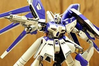 鋼彈傳奇人物阿姆羅的最終座機!!! METAL ROBOT 魂 Hi-ν鋼彈 開箱報告