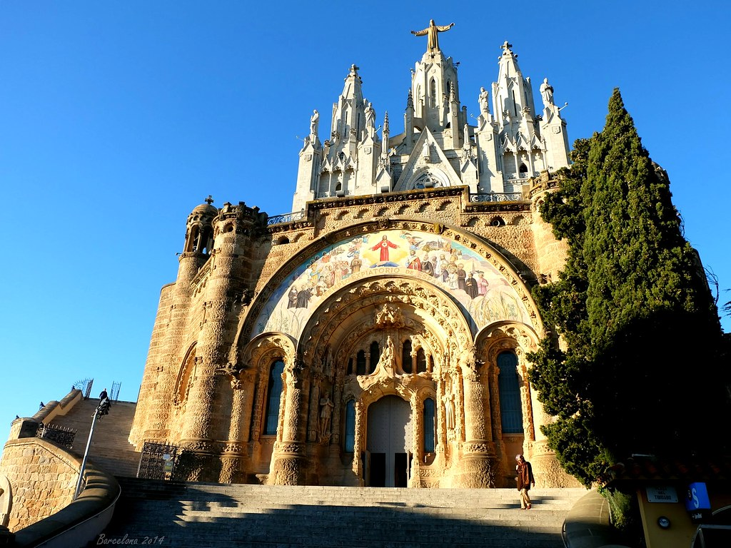 Barcelona day_2, Temple of the Sacred Heart of Jesus, Tibidabo