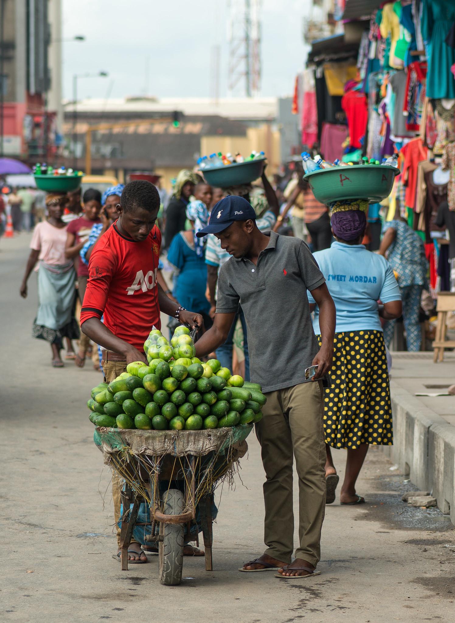Downtown Lagos Market