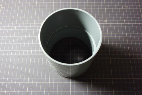 cupling_1 塩ビ管継手の写真。後にレンズセルを嵌める事となる。