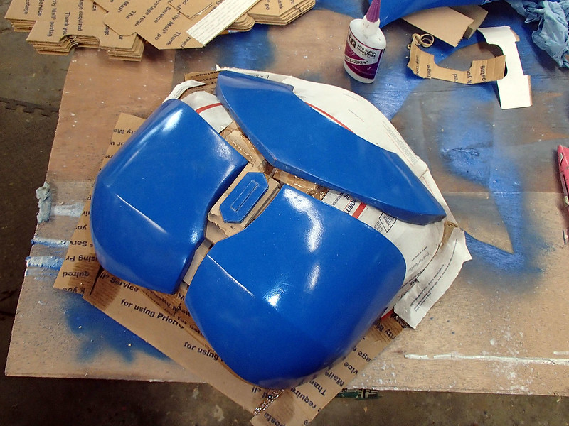 Nite Owl Chest Blocked Up For Molding