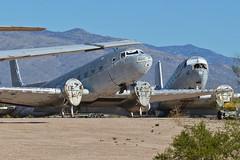 Douglas C-117Ds '50812' & '12412'