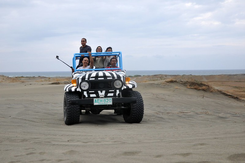 Laoag Sand Dunes with LEAD Movement