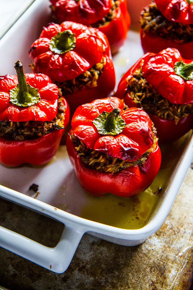 Greek Stuffed Peppers