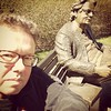 selfie with Man of Bronze