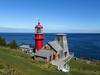 Lighthouse - Phare de Pointe à la Renommée - Gaspésie - Quebec - Canada