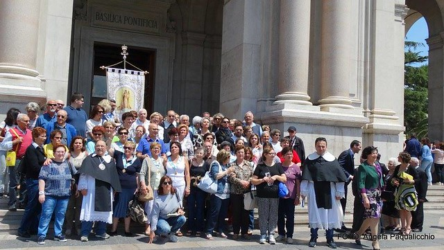 pellegrinaggio alla madonna di pompei