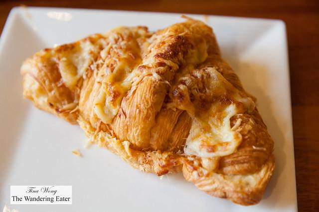 Three cheese croissant