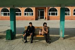 Chongjin bus stop