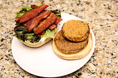 BLT with Pickled Fried Green Tomatoes