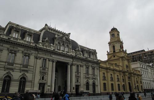 Santiago: la Plaza de Armas