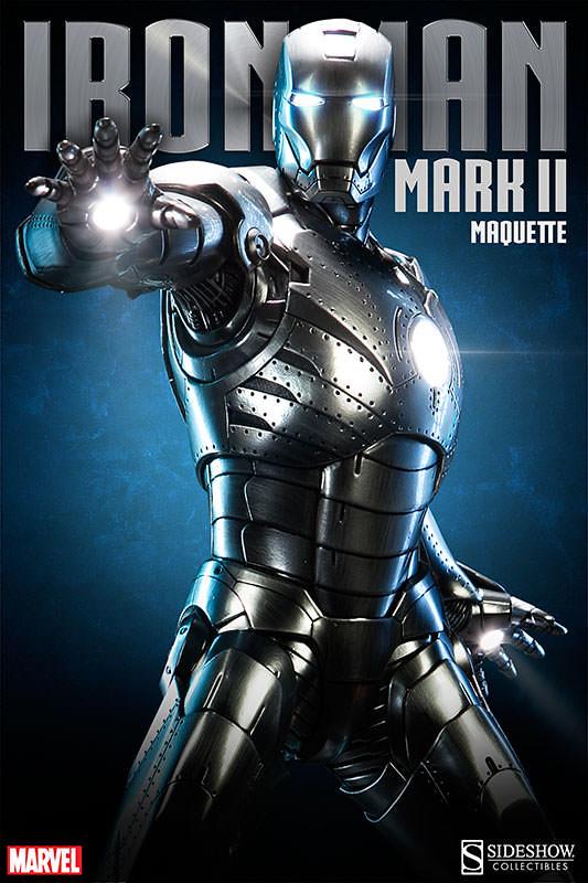 【官圖 & 販售資訊更新】Sideshow - 《鋼鐵人》1/4 比例鋼鐵人馬克2 雕像
