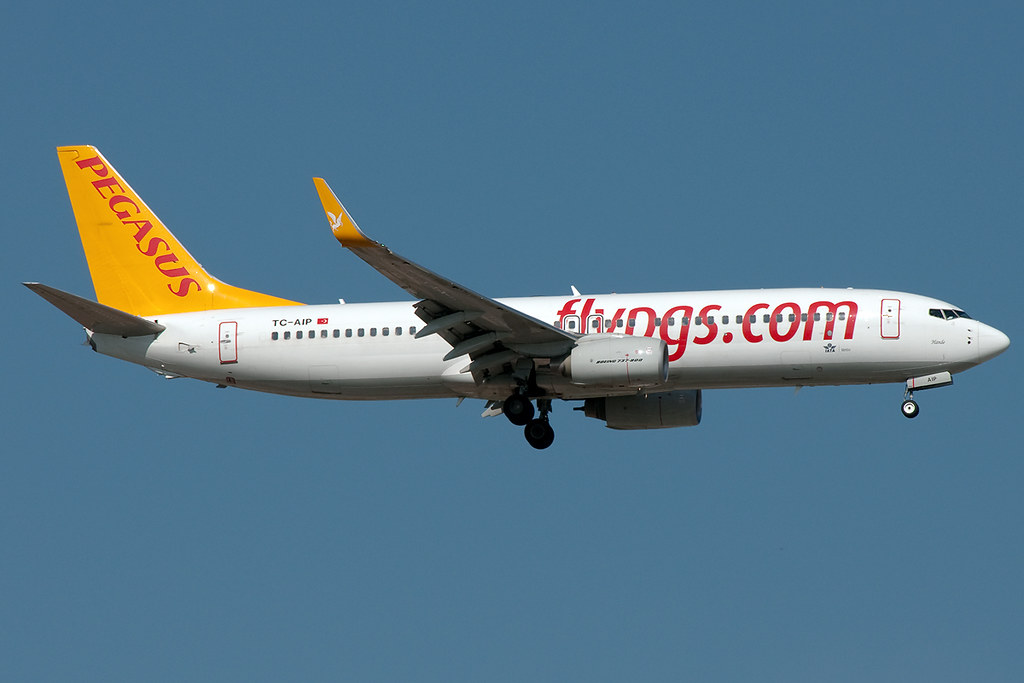 TC-AIP - B738 - Pegasus Airlines