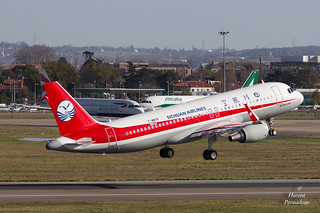 F-WWIB // B-1885 Sichuan Airlines Airbus A320-214(WL) - cn 6386