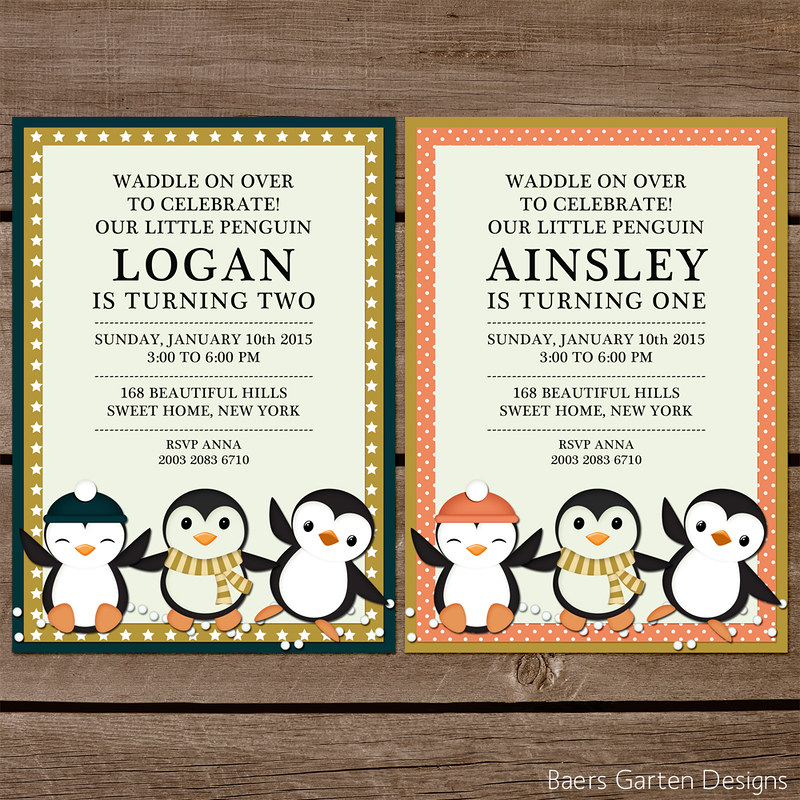 Winter Friends Party Printables