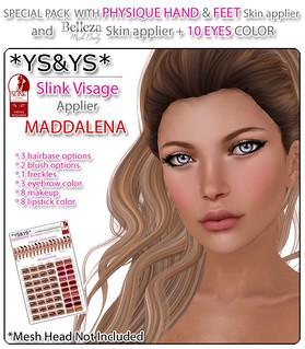 *YS&YS* @ My Slink Obsession - Maddalena