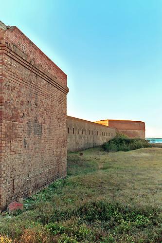 unitedstates florida fort bricks fernandinabeach clearsky fortclinchstatepark
