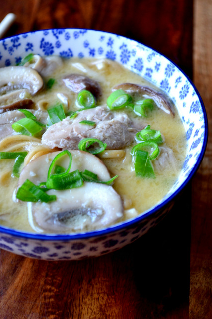 Thai Coconut Milk Soup