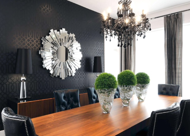 Metallic Wallpaper | Home Decor | #LivingAfterMidnite