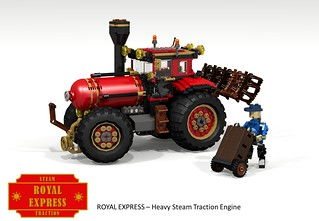 Royal Express - Heavy Steam Traction Engine