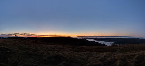 autumn black fog forest sunrise deutschland nebel herbst sonnenaufgang schwarzwald badenwürttemberg herzogenhorn hdrpanorama bernauimschwarzwald