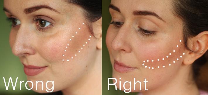 make up contouring tutorial