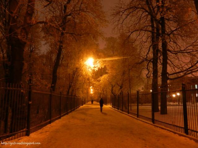 Старый Киевский ботанический сад