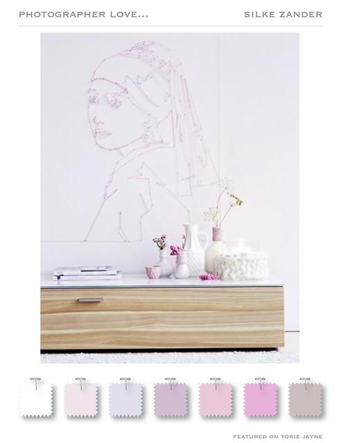 Silke Zander Winter Pastels