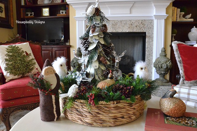 Great Room Table Vignette-Christmas 2014-Housepitality Designs