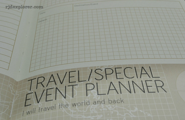 organize my travel journal