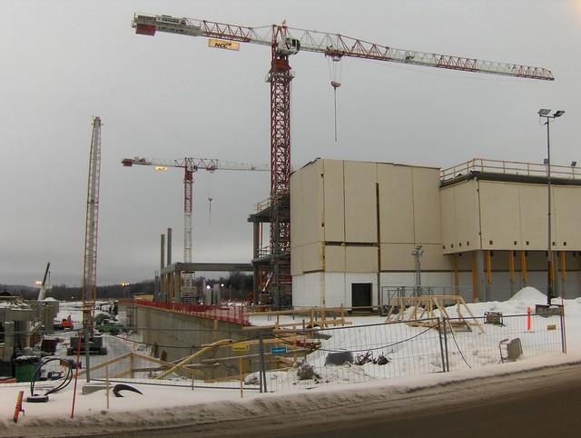 Hämeenlinnan moottoritiekate ja Goodman-kauppakeskus: Työmaatilanne 13.1.2013 - kuva 4