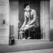 Giant in a glass cage by Street Photography candid