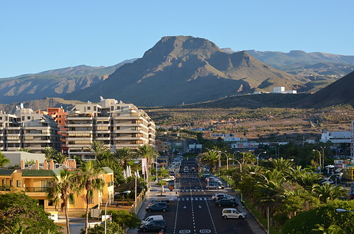 Roque del Conde seen from Los Cristianos