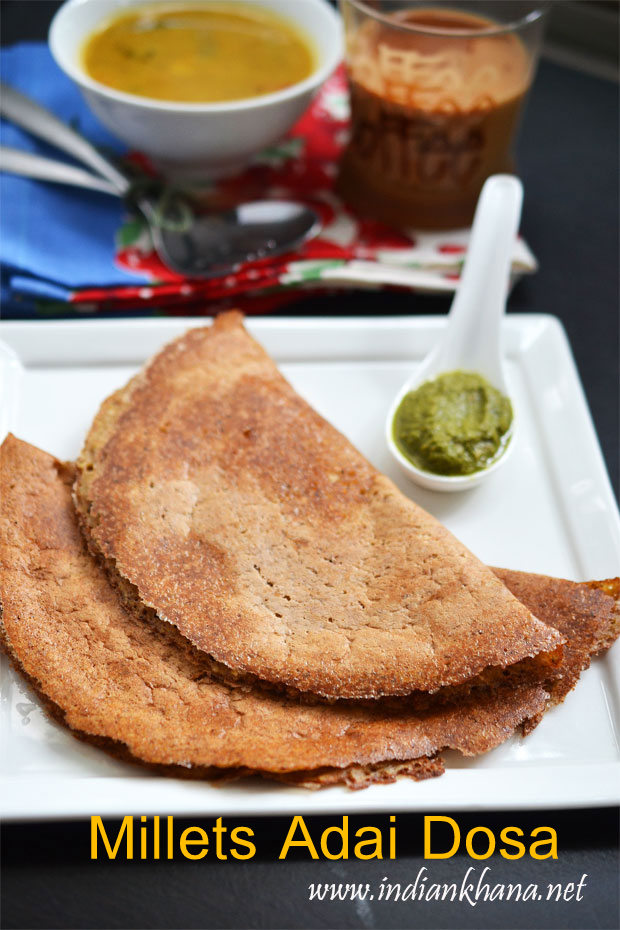 Mixed millets adai dosa millets adai recipe dosa recipes mixed millets adai dosa forumfinder Gallery