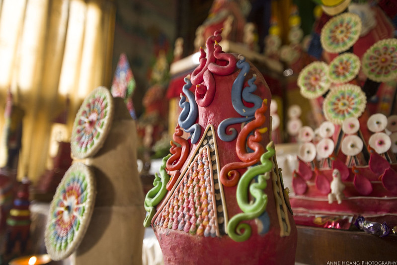 butter sculptures in Tibetan Buddhism