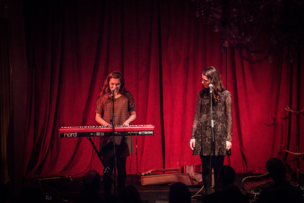Lily and Madeleine @ Bush Hall 26/11/14