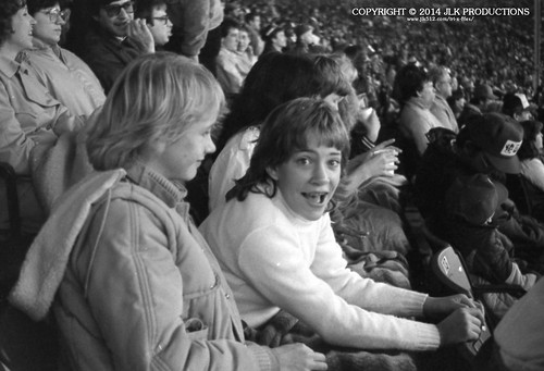 Tri-X Files 84_29.04a: Darlene and Nancy at the Louisville Football Game